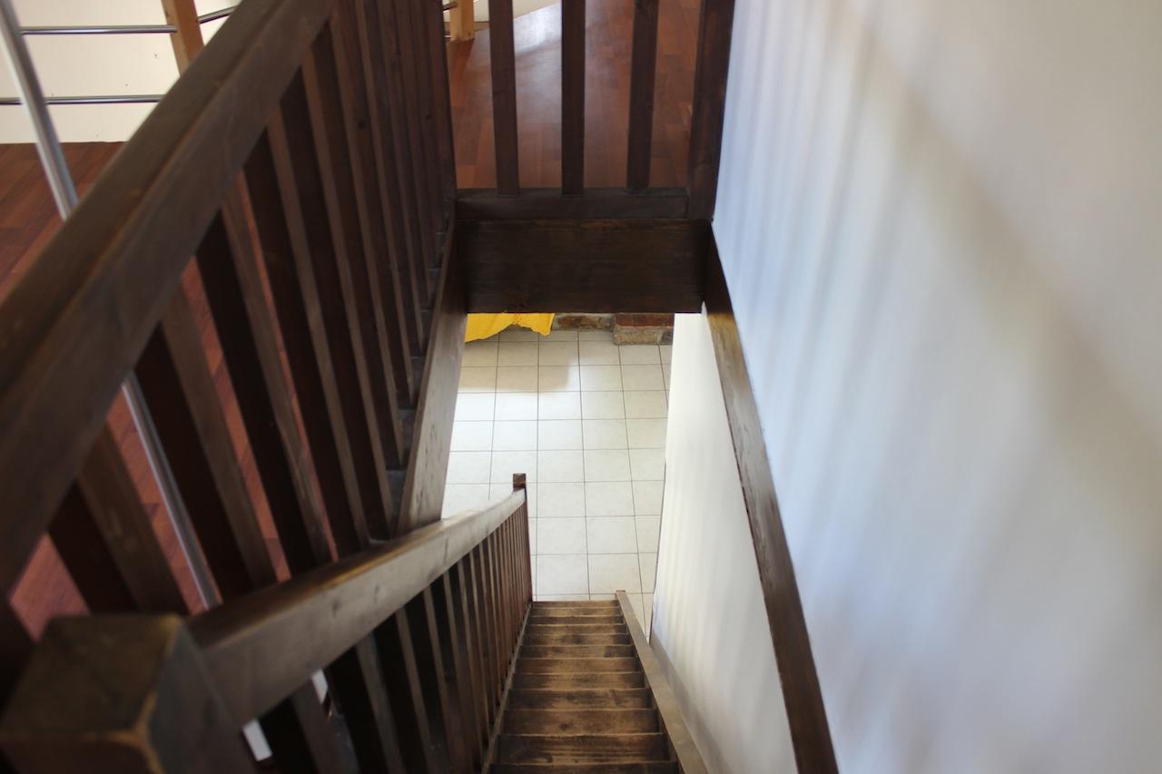 Escalier d'accès à l'étage