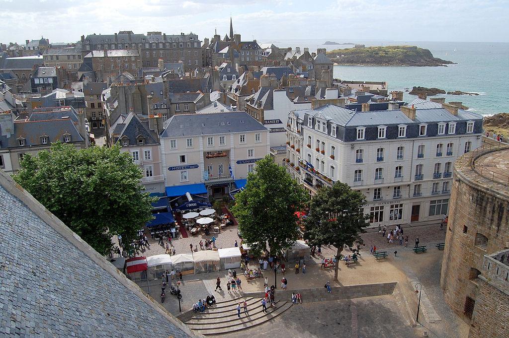 Vue de Saint-Malo intramuros