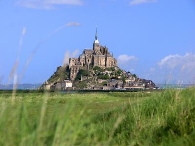 Vue sur le Mont Saint-Michel